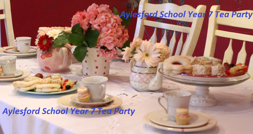 Year 7 Tea Party