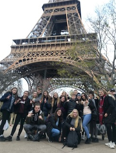 Aylesford School Year 10 students visit Paris