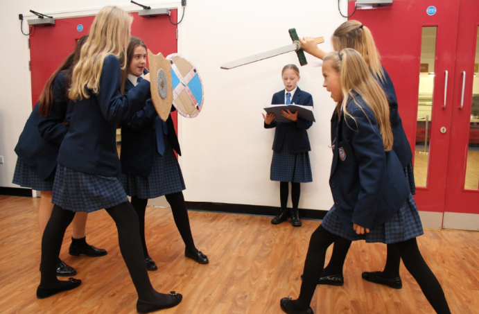 Year 7 go into battle!