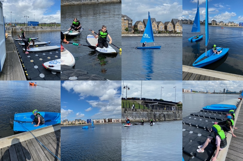 Chatham Maritime Watersports Centre year 8 trip