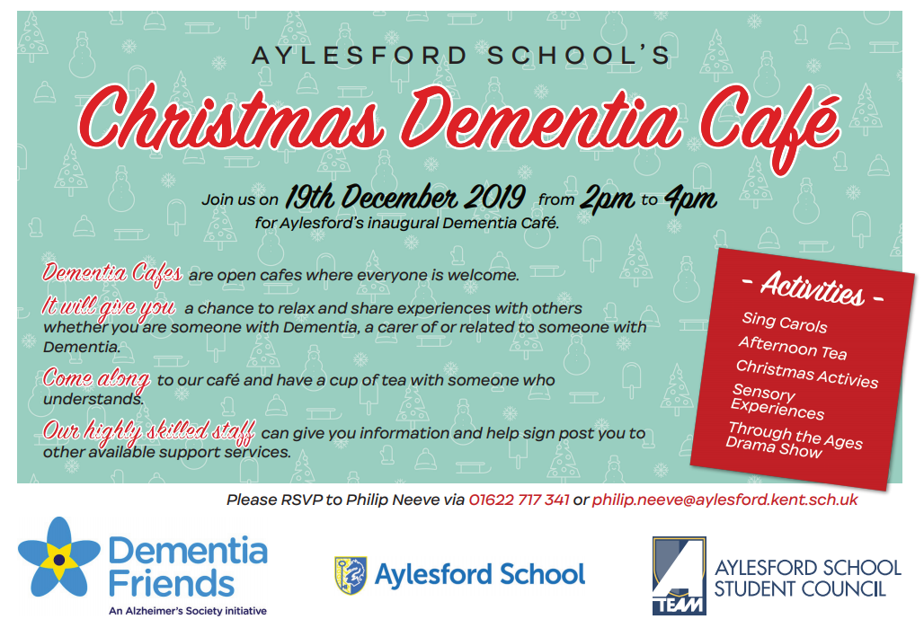 Aylesford launch Dementia Cafe