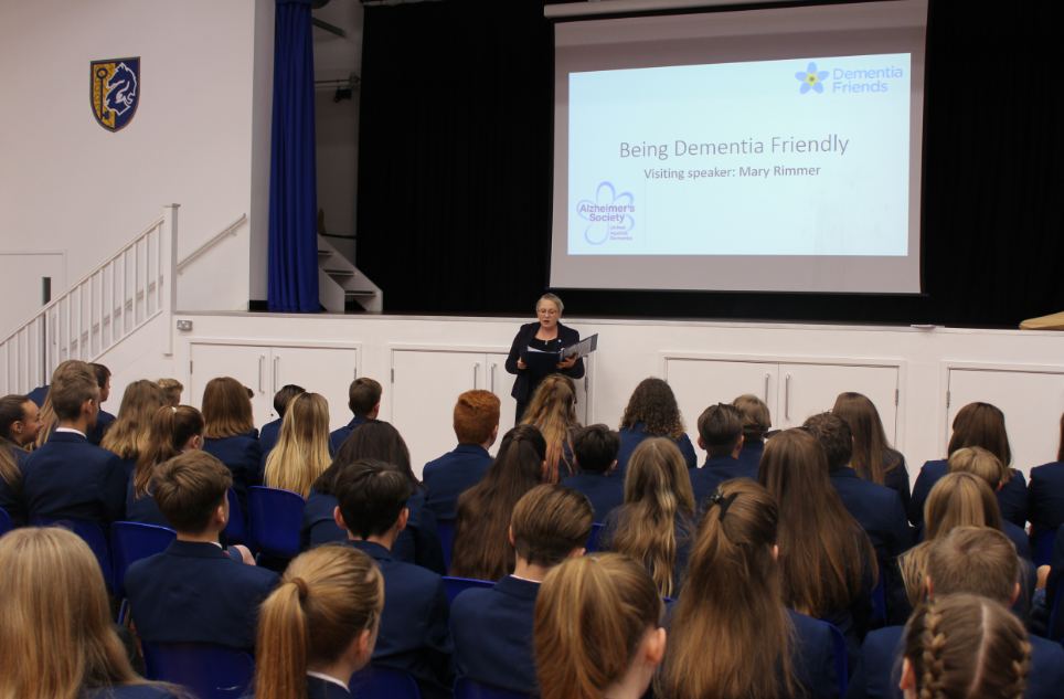 Aylesford - A dementia friendly school!
