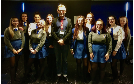 Actor Phil Wright Visits Aylesford School