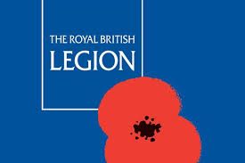 Royal British Legion Visit - 6th November