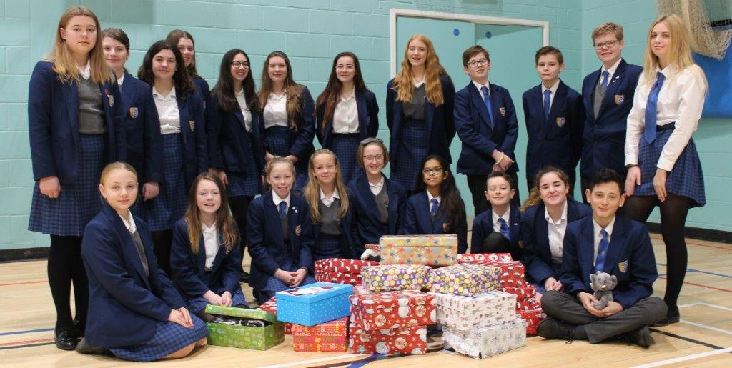 Aylesford Shoe Box Appeal