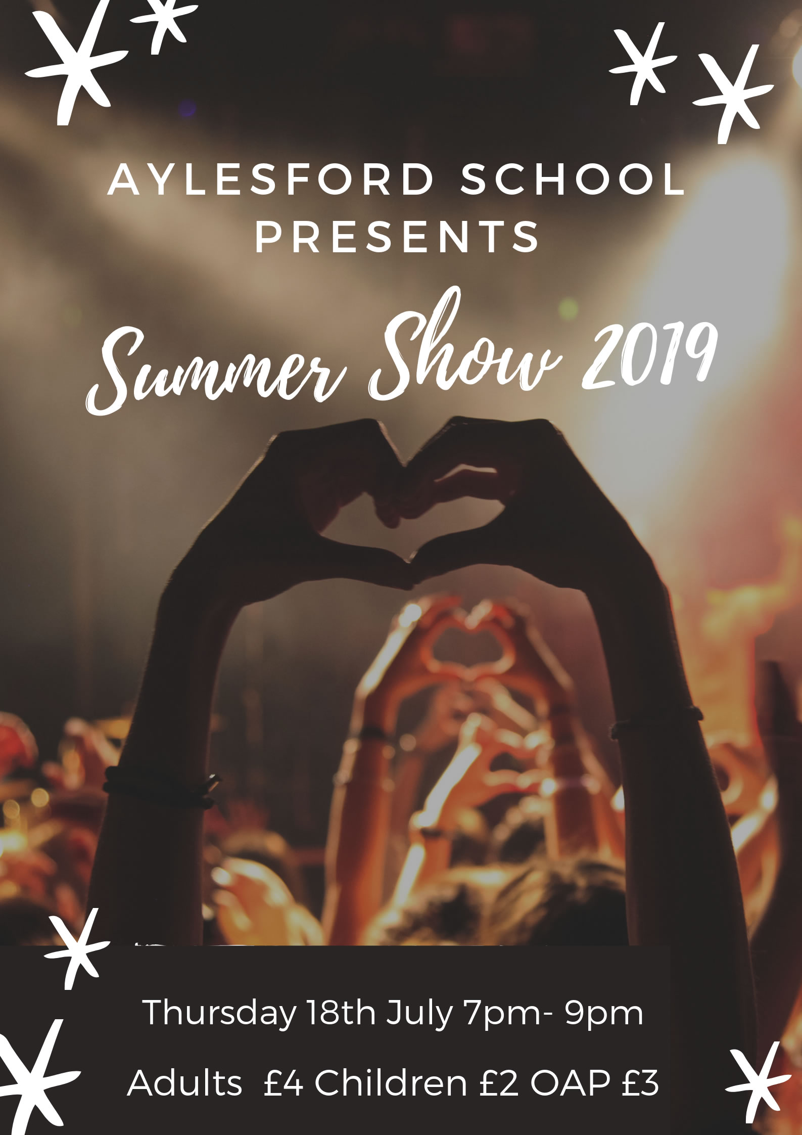 Summer Concert 2019 - Thursday 18th July 7pm - 9pm