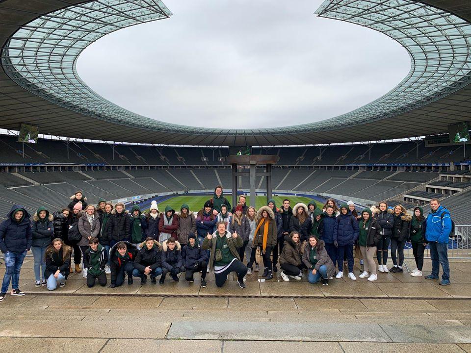 Aylesford visit Berlin