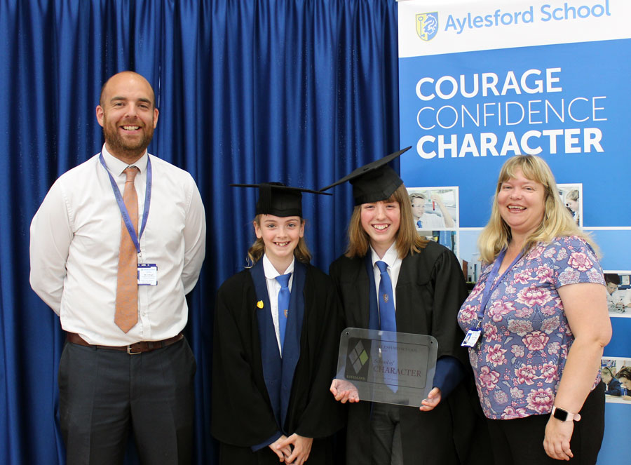 Aylesford School achieves recognition as a School of Character