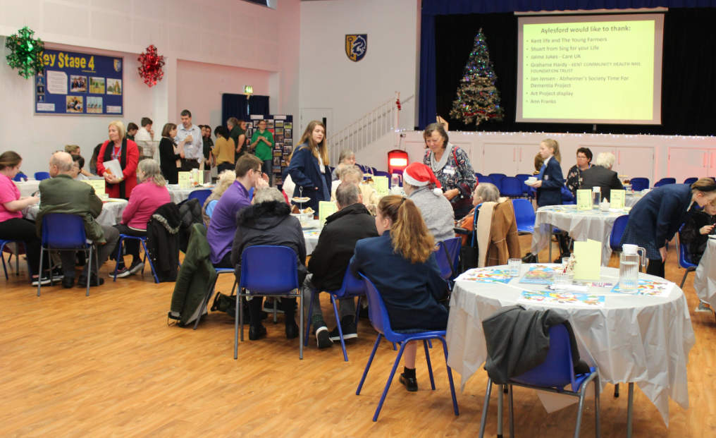 Aylesford School host first Dementia Cafe
