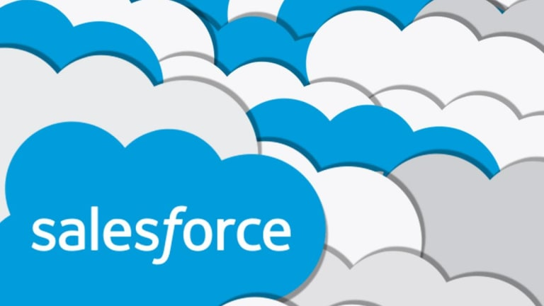 Year 11 students virtual work experience with Salesforce