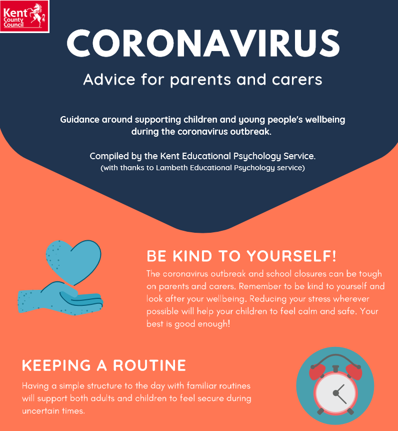 Corona Virus - Advice for Parents and Carers